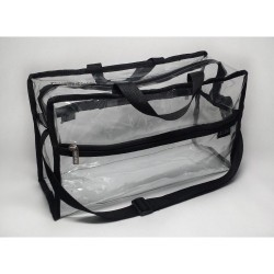 DELUVA Clear Set Bags