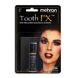 Zobu krāsa zelta - Mehron...